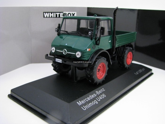 Mercedes-Benz Unimog U406 1:43 White Box WB197