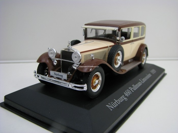 Mercedes-Benz Nurburg 460 Pulmann Limousine 1929 1:43 Atlas Edition
