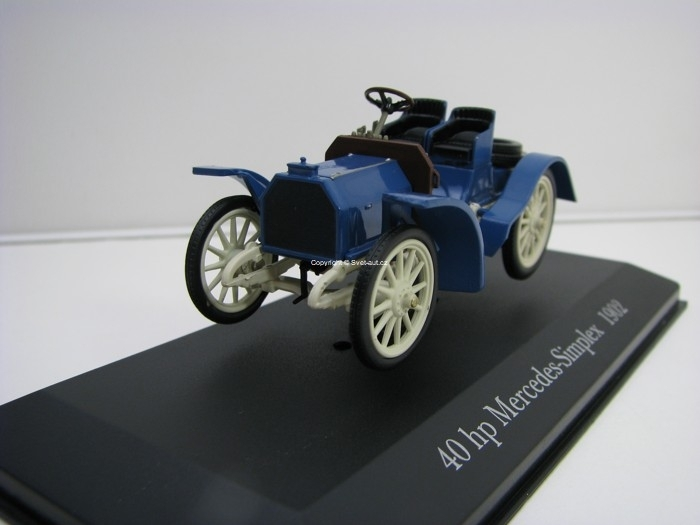 Mercedes-Simplex 40 hp 1902 1:43 Atlas Edition