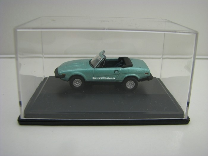 Triuph TR7 Convertible Persian Aqua Metallic 1:76 Oxford