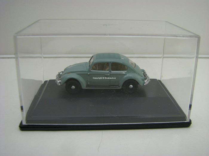 Volkswagen Beetle Pastel Blue 1:76 Oxford