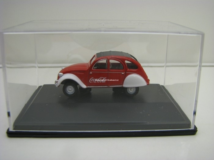 Citroen 2CV Coca-Cola 1:76 Oxford