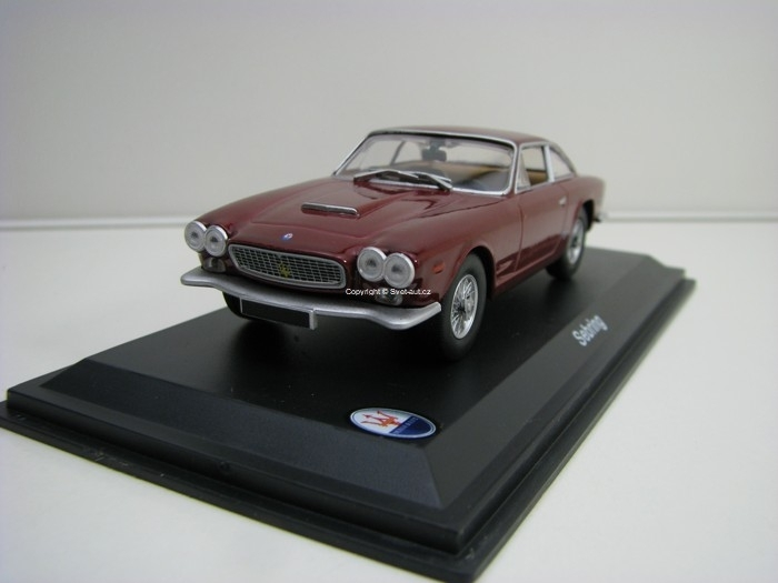 Maserati Sebring 1962 Purple 1:43 Atlas Edition