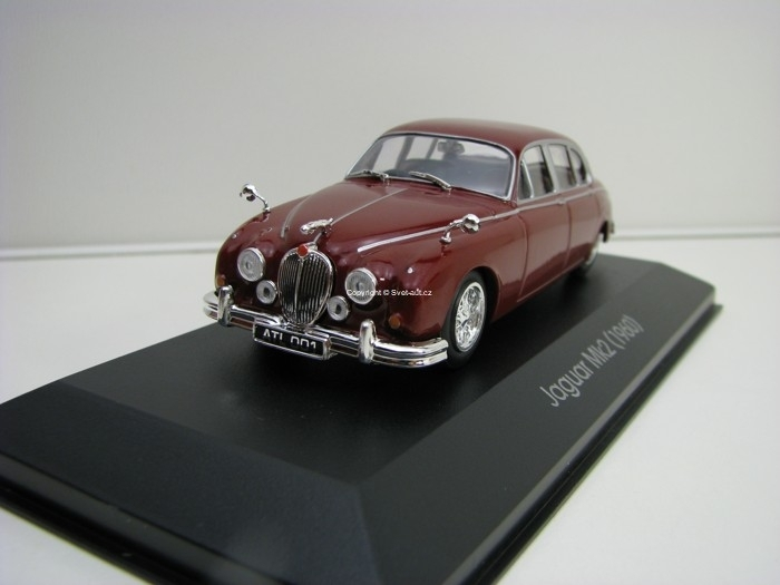 Jaguar Mk2 1960 Purple 1:43 Atlas Edition