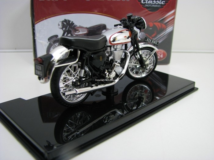 BSA Gold Star DBD34 1960 1:24 Atlas Edition