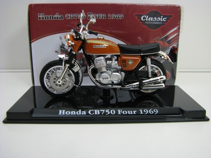 Honda CB750 Four 1969 1:24 Atlas Edition