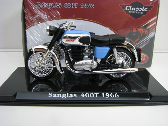 Sanglas 400T 1966 1:24 Atlas Edition