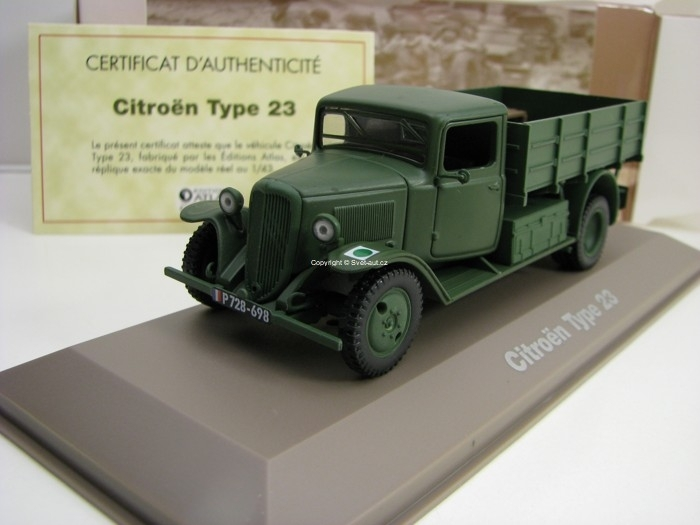 Citroen Type 23 1:43 Atlas