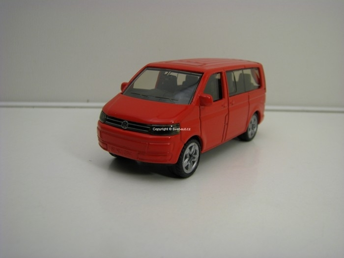 Volkswagen Multivan Red Siku Blister 1070