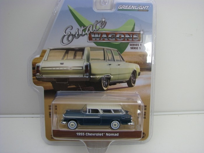 Chevrolet Nomad 1955 Estate Wagons série 1 1:64 Greenlight 29910