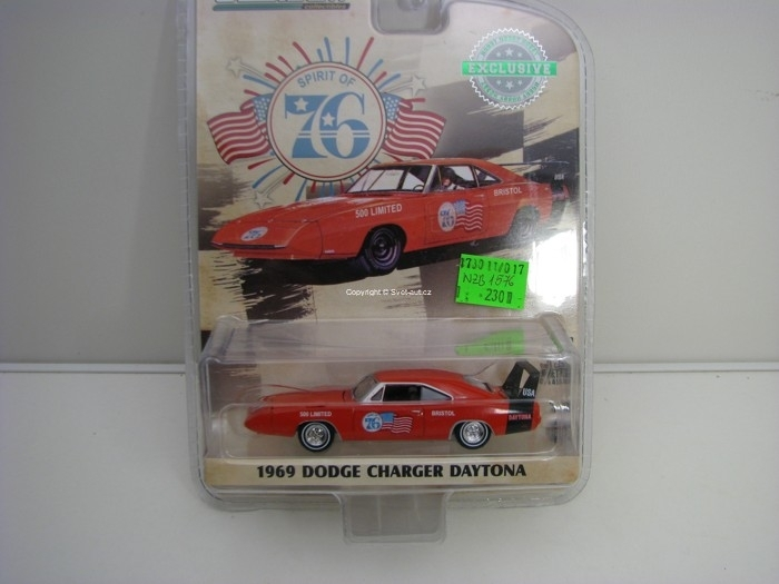 Dodge Charger Daytona 1969 Hobby Exlusive 1:64 Greenlight 29969