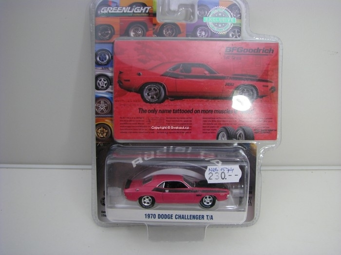 Dodge Challenger T/A 1970 Hobby Exlusive 1:64 Greenlight 29943