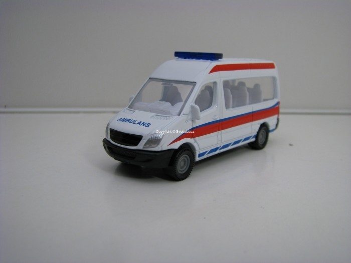Mercedes-Benz Sprinter Bus AMBULANS Siku blister 1083