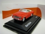 Škoda Felicia Roadster 1963 Light Red 1:72 Abrex