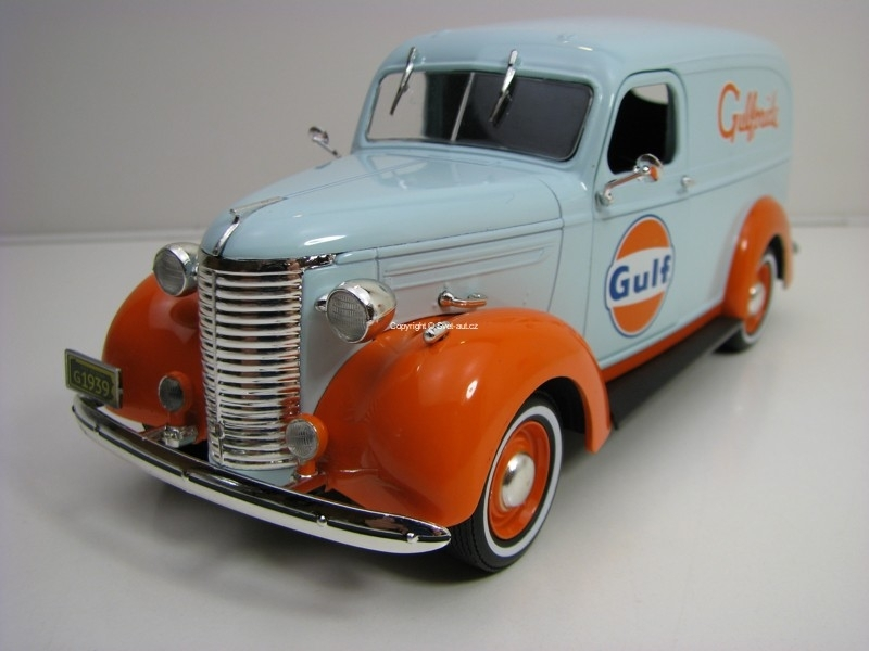 Chevrolet Panel Truck 1939 Gulfpride 1:24 Greenlight