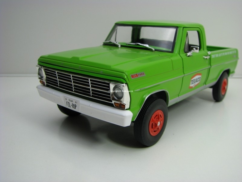 Ford F-100 1967 Texaco 1:24 Greenlight