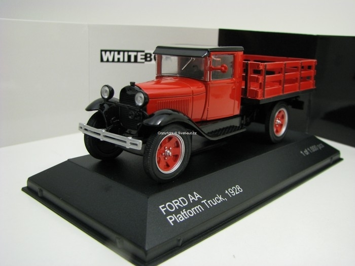 Ford AA Platform Truck 1928 1:43 White Box WB290