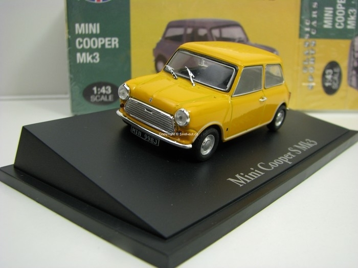 Mini Cooper S Mk3 Yellow 1:43 Atlas Edition