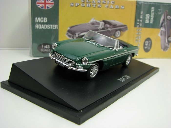 MGB Roadster Green 1:43 Atlas Edition