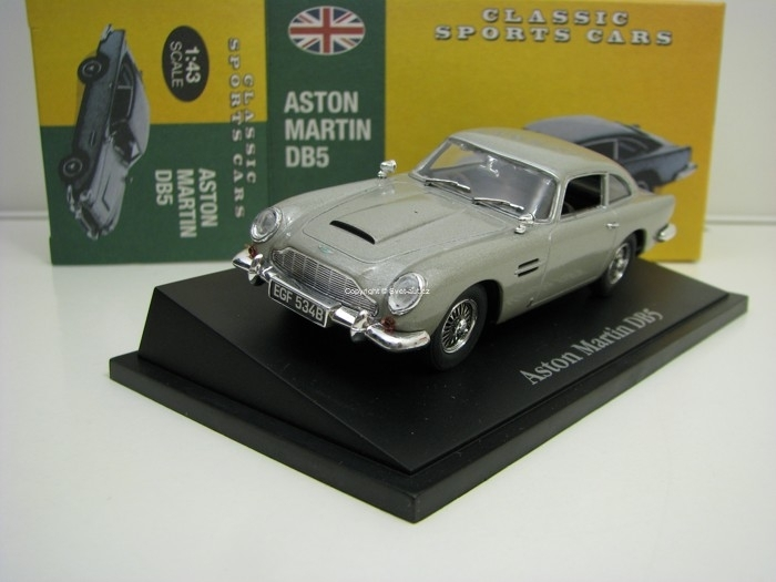 Aston Martin DB5 Grey 1:43 Atlas Edition