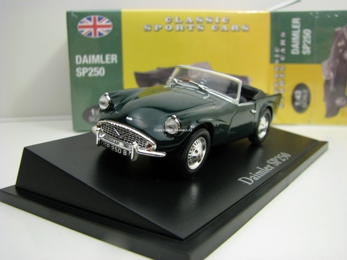 Daimler SP250 Green 1:43 Atlas Edition