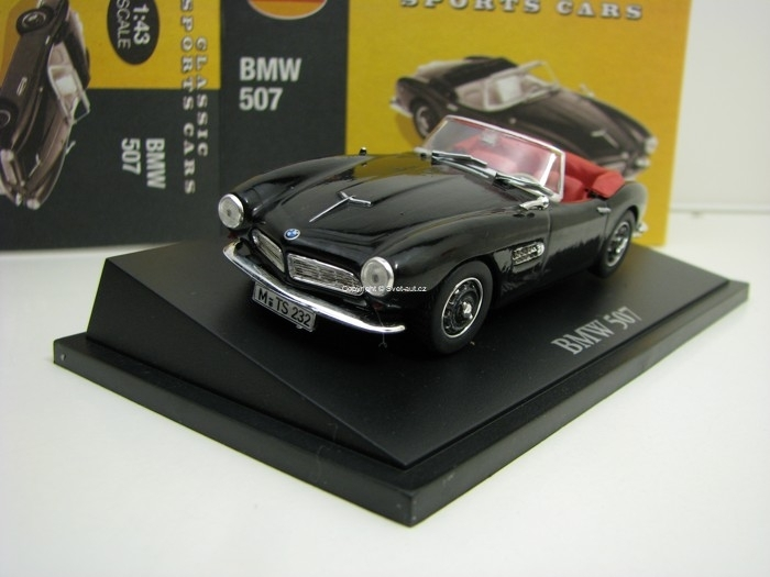 BMW 507 Black 1:43 Atlas Edition