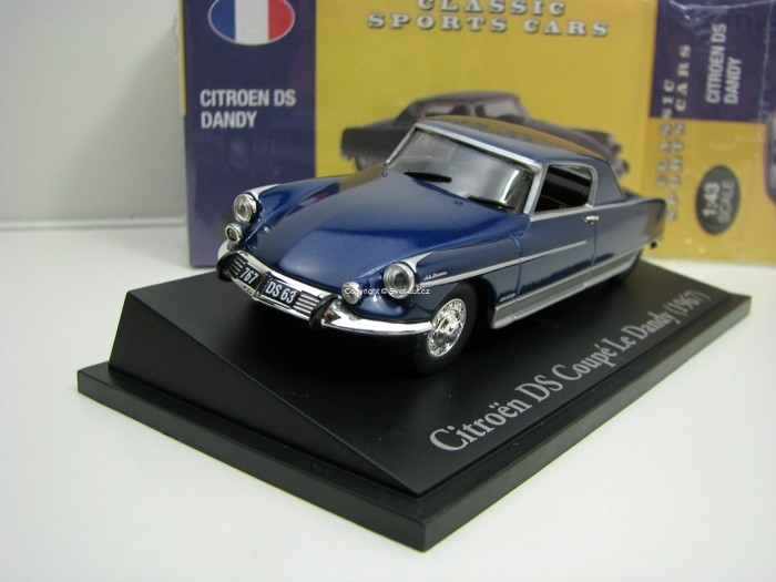 Citroen DS Dandy Blue 1:43 Atlas Edition