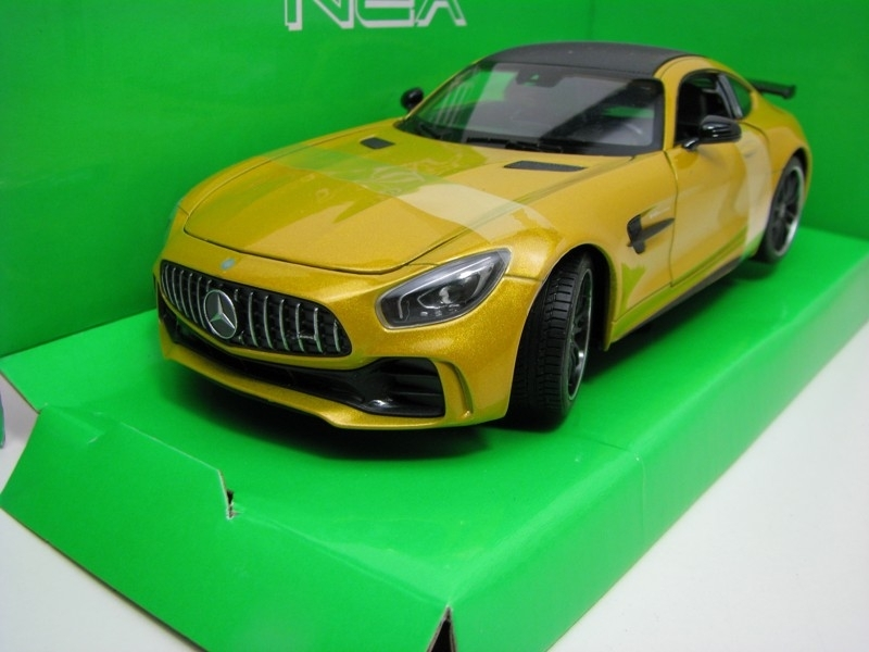 Mercedes-Benz AMG GT-R Yellow 1:24 Welly
