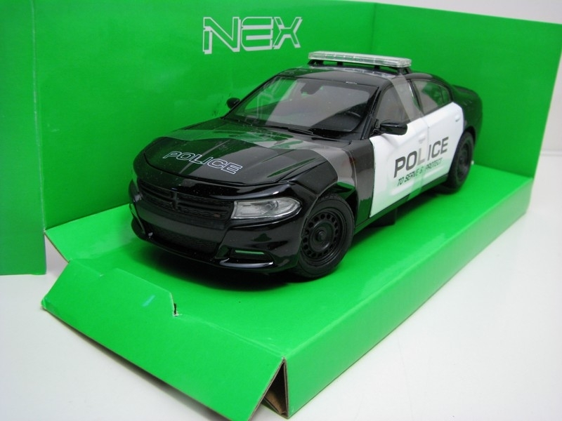 Dodge Charger Police 2016 1:24 Welly