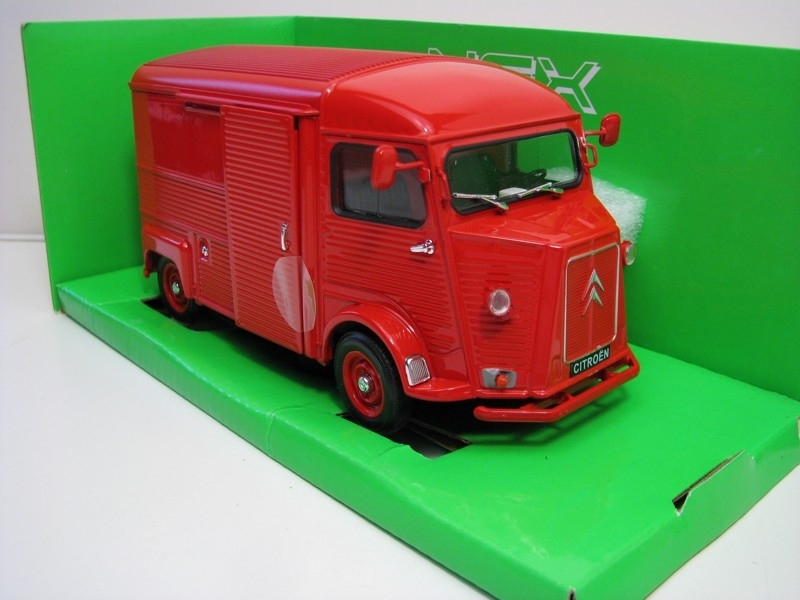 Citroen Type H red 1:24 Welly