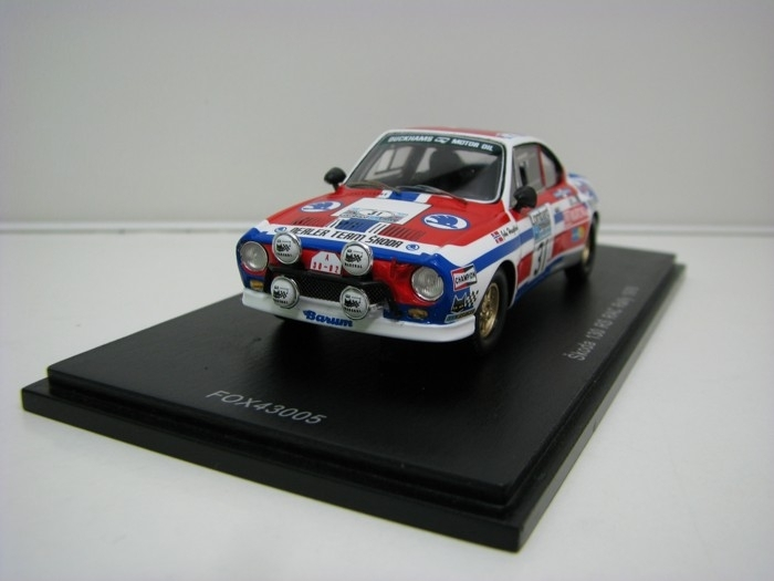 Škoda 130RS No.31 Haugland RAC Rally 1976 1:43 FOX18