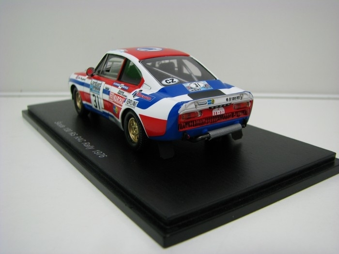 Škoda 130 RS No.31 Haugland RAC Rally 1976 1:43 FOX18