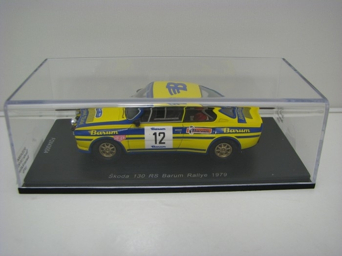 Škoda 130 RS No.12 Sivík-Čermák Barum Rally 1979 1:43 FOX18