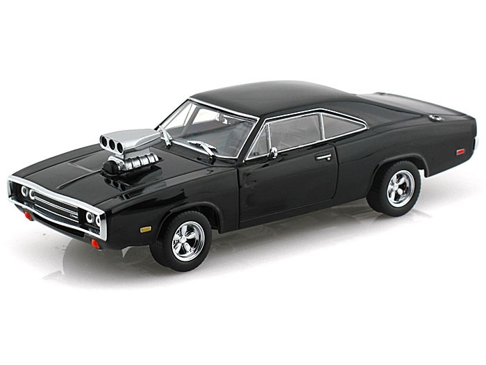 Dodge Charger R/T 1970 Black 1:43 Greenlight