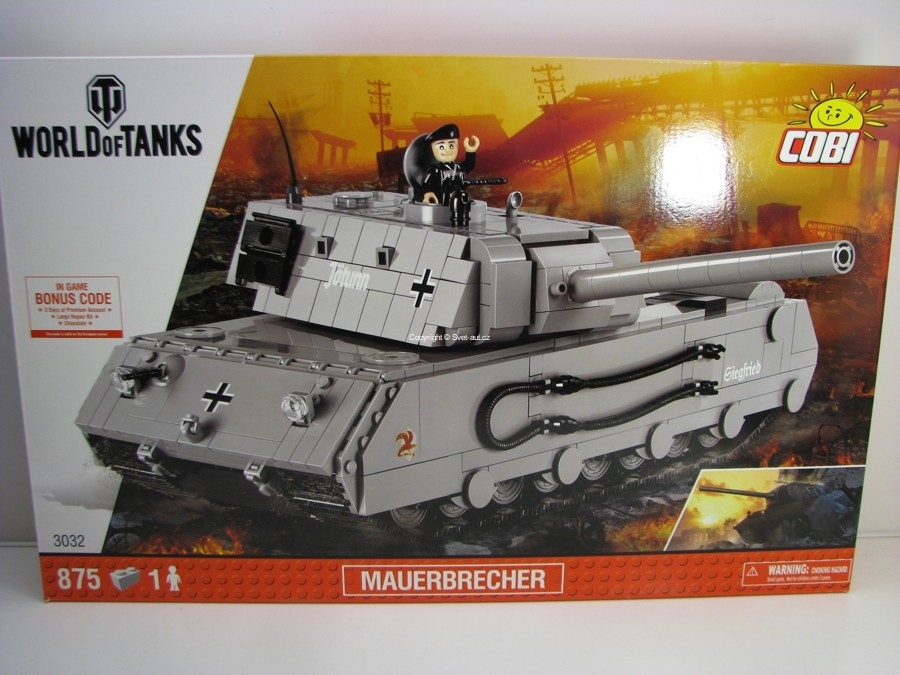 Cobi 3032 Těžký tank Mauerbrecher World of Tanks