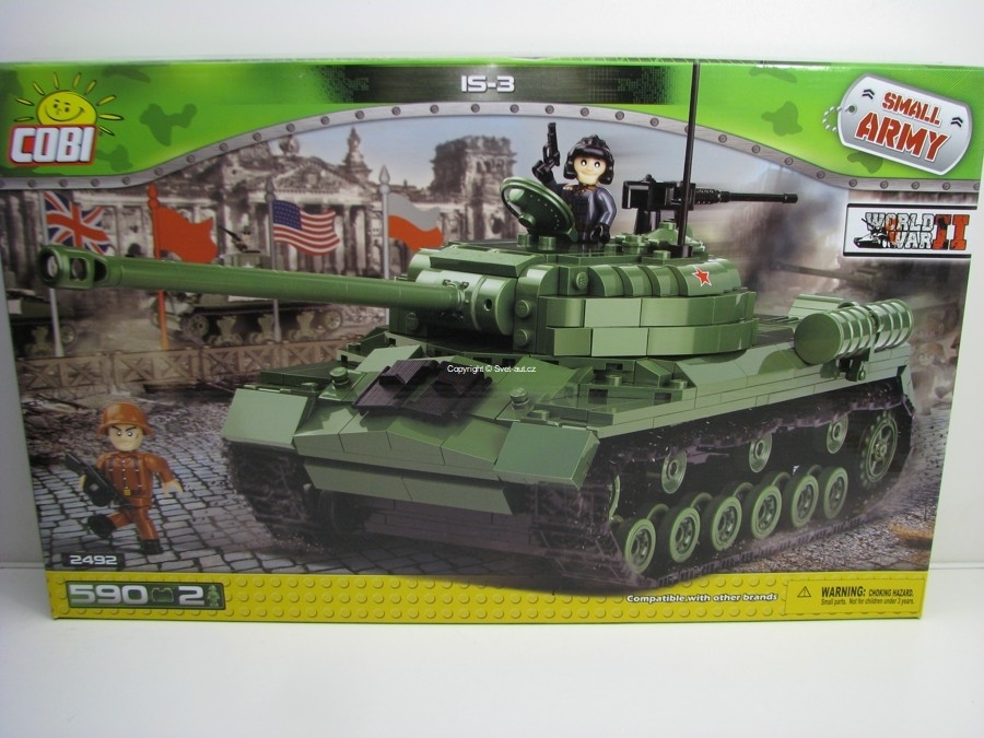 Cobi 2492 Těžký tank IS-3 World War II Small Army