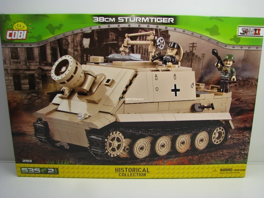 Cobi 2513 Samohybný raketomet Sturmtiger 38 cm World War II Small Army