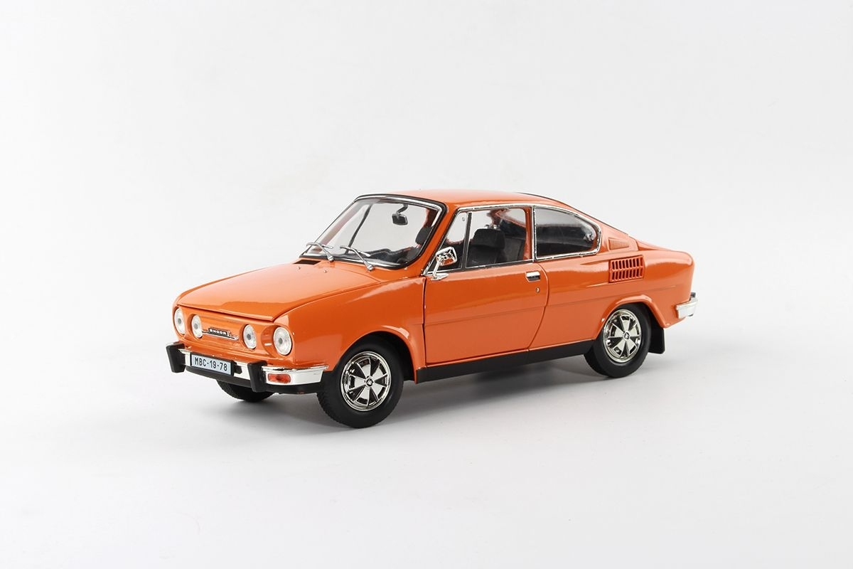 Škoda 110R Coupé 1980 Orange 1:18 Abrex