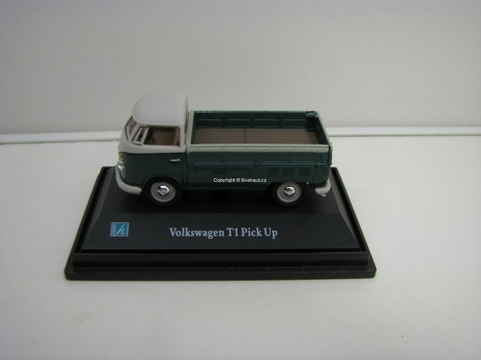 Volkswagen T1 Pick Up Green 1:72 Cararama
