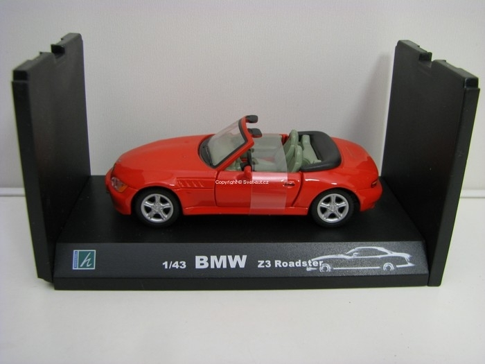 BMW Z3 Roadster Red 1:43 Cararama