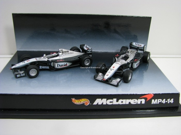 McLaren World Champion MP4-14 1:64 Hotwheels
