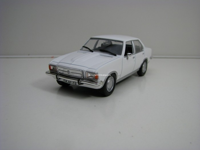 Opel Rekord White 1:43 Atlas Edition