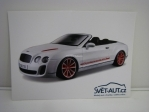Pohlednice Bentley Continental Supersport Cabrio