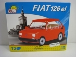 Cobi 24531 Fiat 126 el stavebnice 1:35 Youngtimer collection