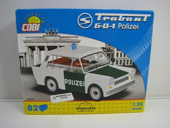 Cobi 24541 Trabant 601 Polizei stavebnice 1:35 Youngtimer collection