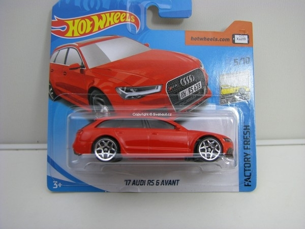 Audi RS 6 Avant Factory Fresh 5/10 Hotwheels 2018