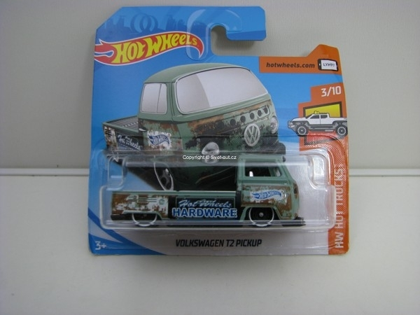 Volkswagen T2 Pick Up 3/10 HW Hot Trucks Hotwheels 2018