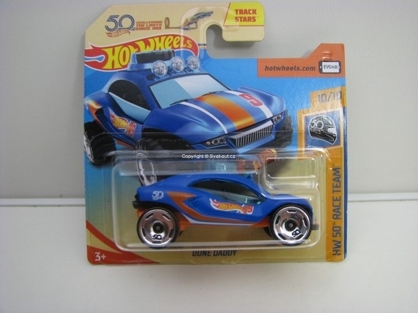Dune Daddy 10/10 HW 50 Race Team Hotwheels 2018