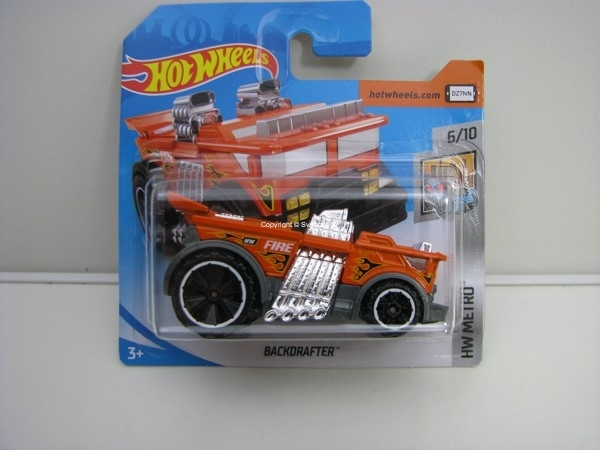 Backdrafter 6/10 HW Metro Hotwheels 2018