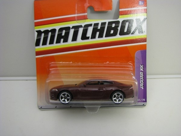 Jaguar XK 2006 1:64 Matchbox